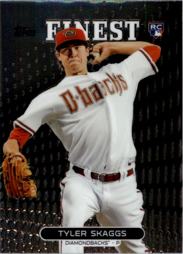 Photo of 2013 Finest #51 Tyler Skaggs RC