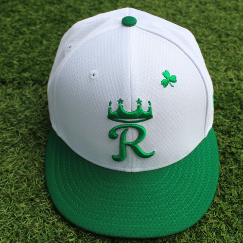 Photo of Team-Issued St. Patrick's Day Cap: Kyle Zimmer (Size 7 1/8)