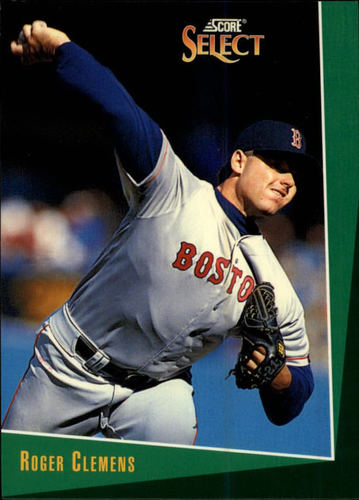 Photo of 1993 Select #14 Roger Clemens