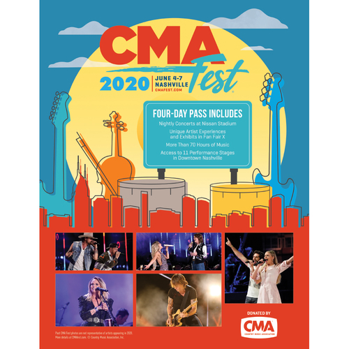Photo of Country Music Association Festival Package