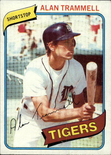 Photo of 1980 Topps #232 Alan Trammell