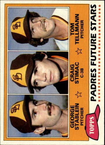 Photo of 1981 Topps #356 George Stablein RC/Craig Stimac RC/Tom Tellmann RC