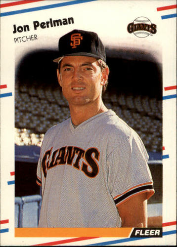 Photo of 1988 Fleer #93 Jon Perlman RC