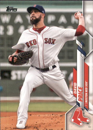 Photo of 2020 Topps #299 David Price