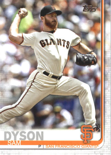 Photo of 2019 Topps #696 Sam Dyson