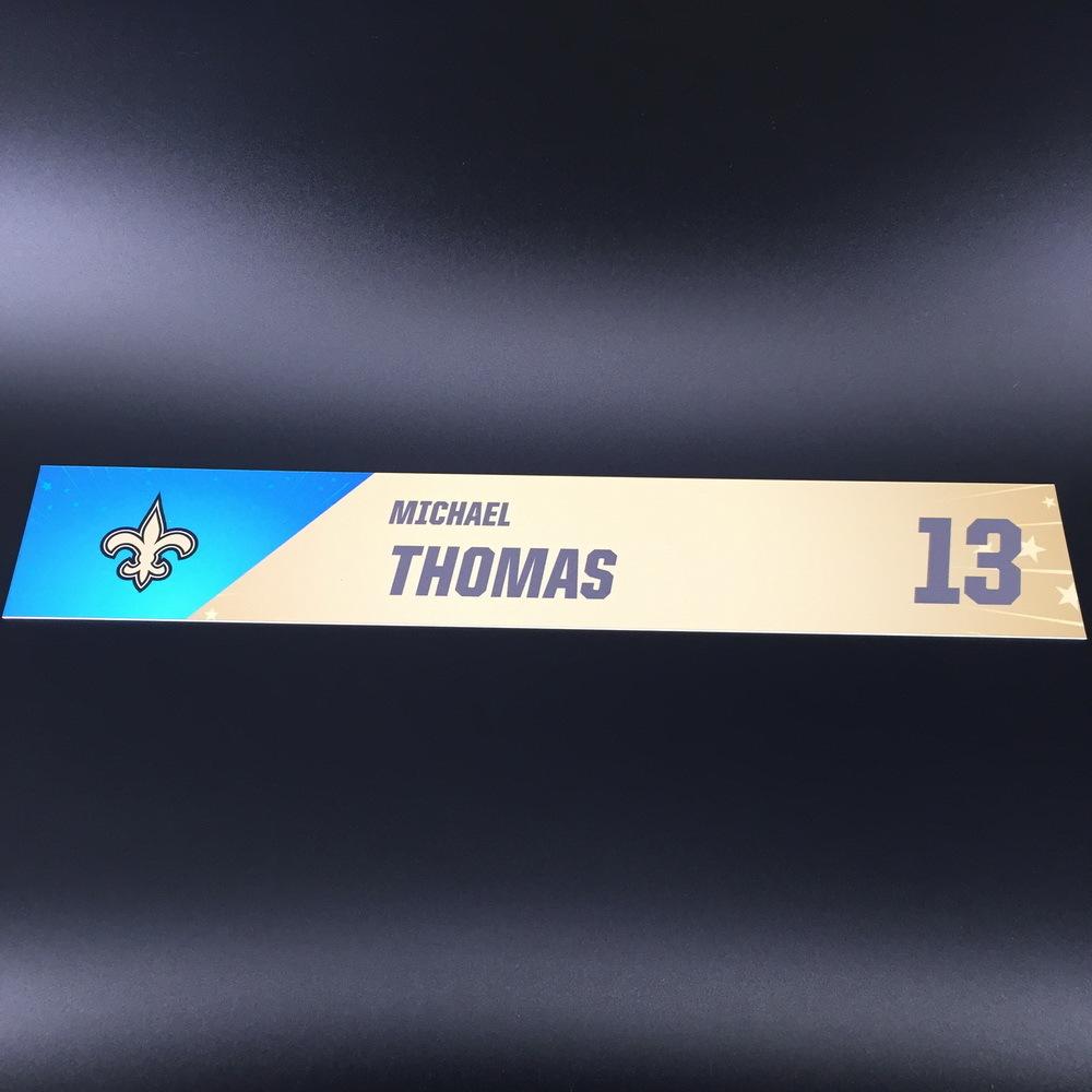 NFL - Saints Michael Thomas Pro Bowl 2020 Locker Room Name Plate