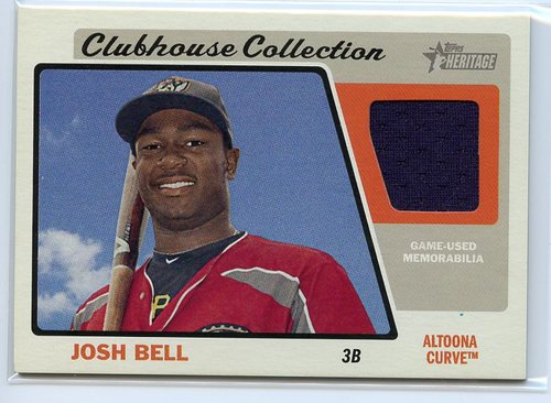 Photo of 2015 Topps Heritage Minors Clubhouse Collection Relics #CCRJB Josh Bell