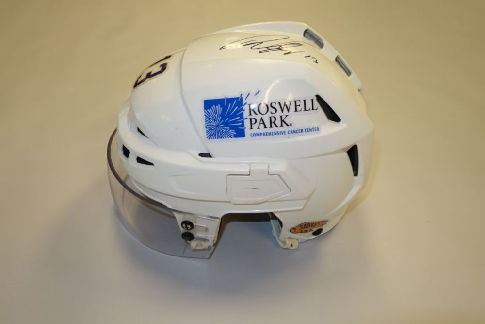 Tobias Rieder 2020-21 Autographed Game-Used Helmet