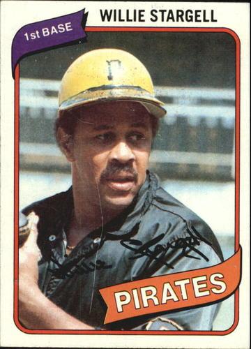 Photo of 1980 Topps #610 Willie Stargell