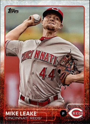 Photo of 2015 Topps #353 Mike Leake