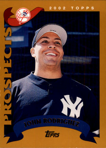 Photo of 2002 Topps #686 John Rodriguez PROS RC
