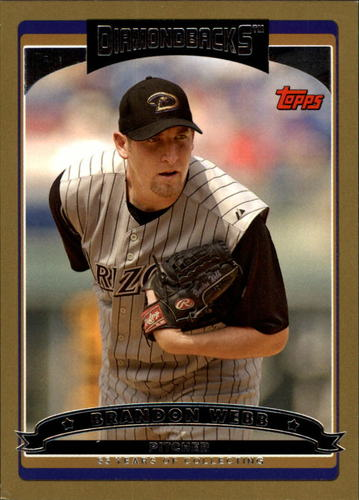 Photo of 2006 Topps Gold #403 Brandon Webb