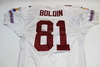 CARDINALS - ANQUAN BOLDIN GAME WORN JERSEY FROM CARDINALS VS SEAHAWKS GAME DEC. 21, 2003 GAME WHEN HE SET THE RECORD FOR MOST RECEPTIONS
