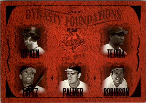 Photo of 2005 Flair Dynasty Foundations #2 Rip/Teja/Javy/Palm/Brooks
