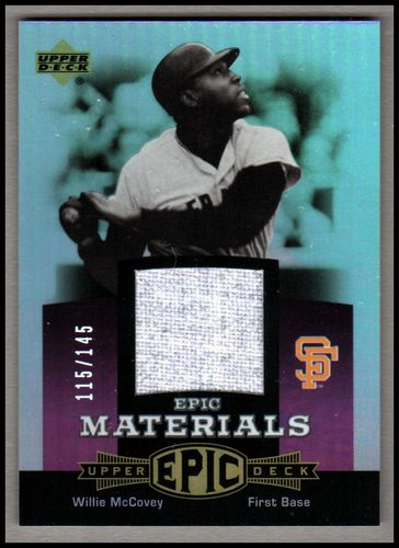 Photo of 2006 Upper Deck Epic Materials Light Purple #WM Willie McCovey Pants/145