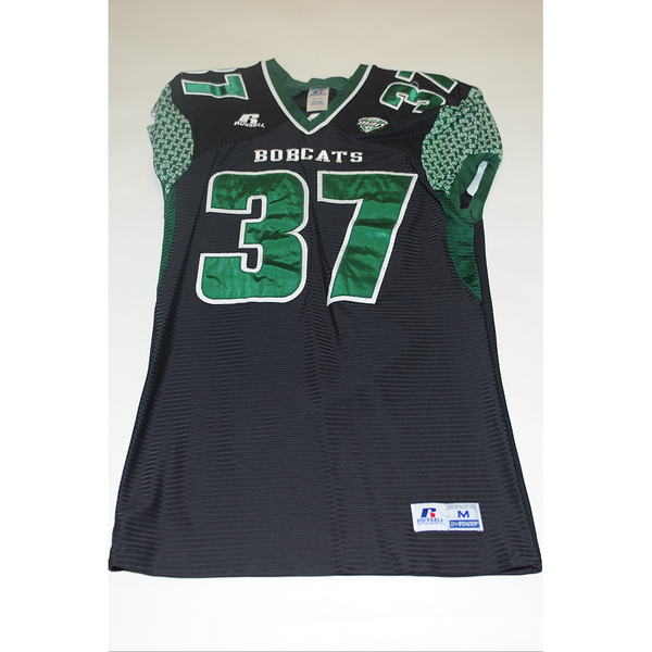 Photo of # 37 - Official OHIO BOBCATS Game Worn Football Jersey (2011) - SIZE MEDIUM