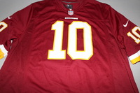 REDSKINS - ROBERT GRIFFIN III NIKE REPLICA JERSEY - SIZE ADULT XL