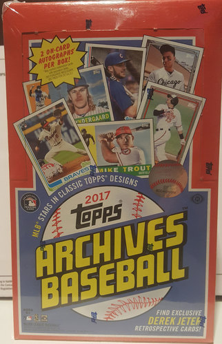 Photo of 2017 Topps Archives Baseball