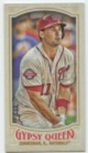 Photo of 2016 Topps Gypsy Queen Mini #243 Ryan Zimmerman