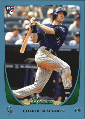 Photo of 2011 Bowman Draft Blue #7 Charlie Blackmon 461/499