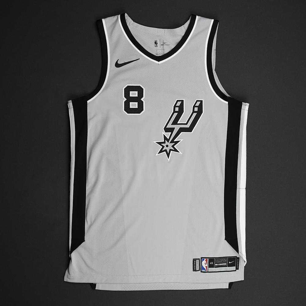 Patty Mills - San Antonio Spurs - Statement Game-Worn Jersey - 2017-18 Season