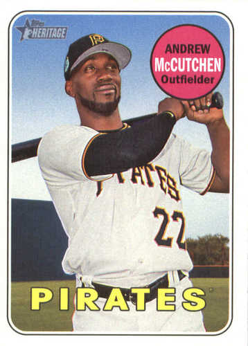 Photo of 2018 Topps Heritage #50 Andrew McCutchen