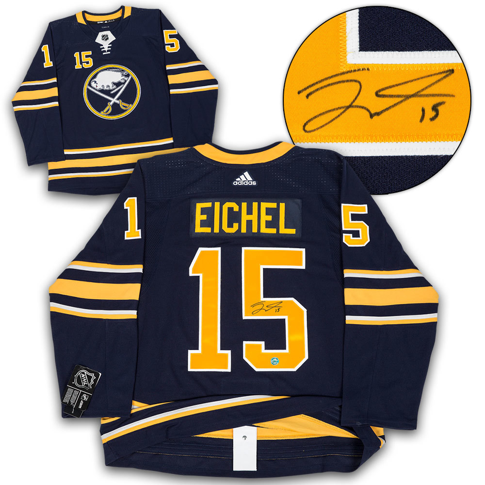 Jack Eichel Buffalo Sabres Autographed Adidas Authentic Hockey Jersey