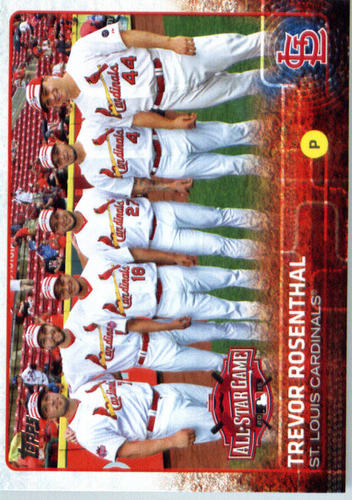 Photo of 2015 Topps Update #US253 Trevor Rosenthal