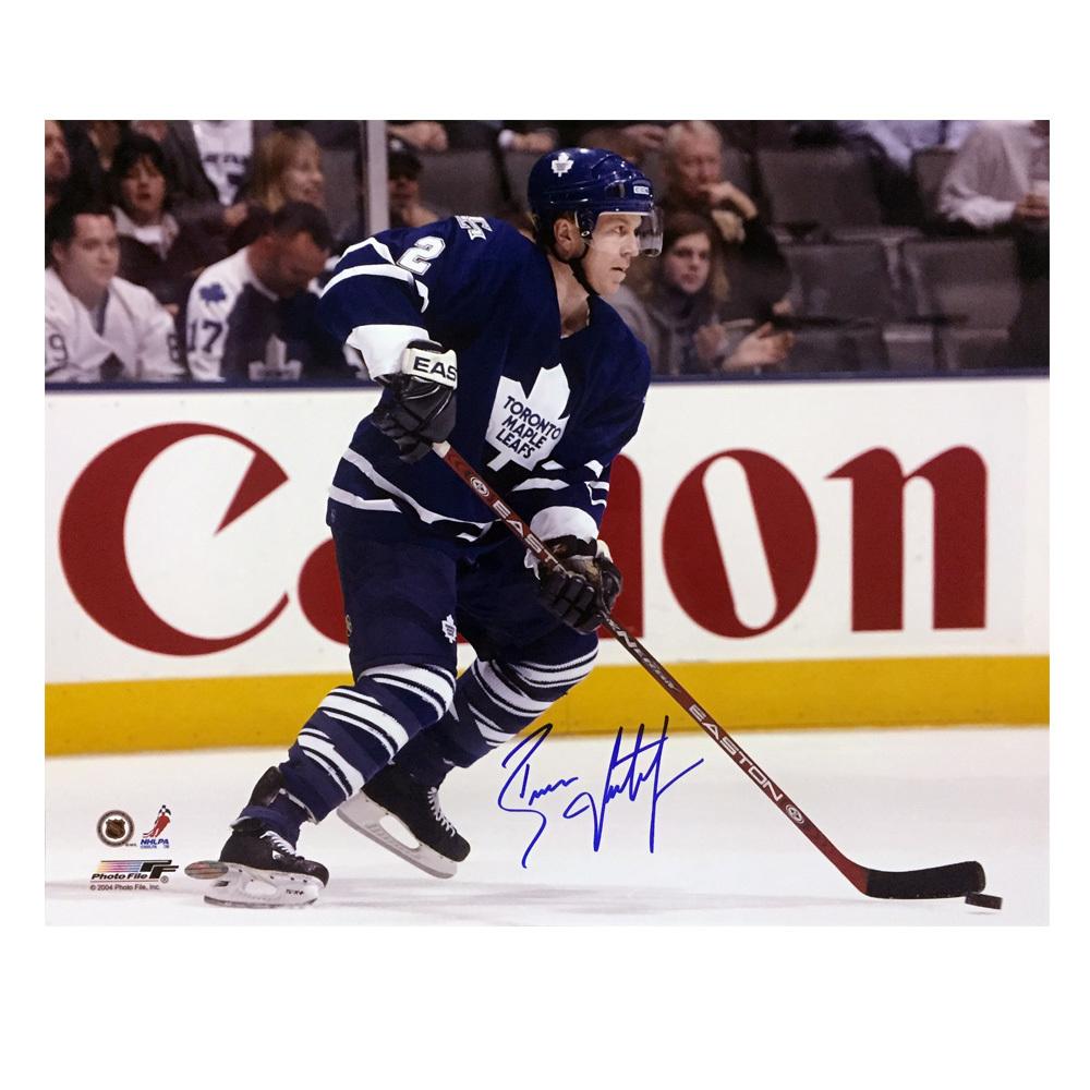 BRIAN LEETCH Signed Toronto Maple Leafs 16 X 20 Photo - 79093