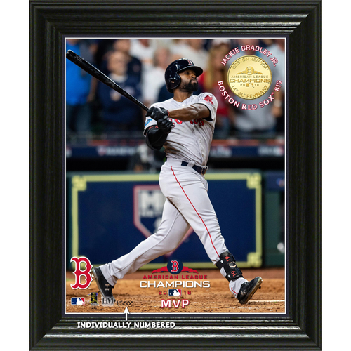 "Photo of Boston Red Sox 2018 AL Champions ""MVP"" Elite Bronze Coin Photo Mint"