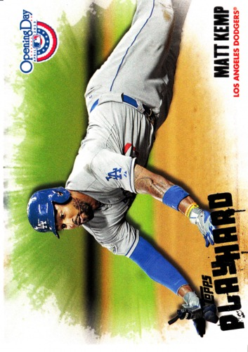 Photo of 2013 Topps Opening Day Play Hard #PH16 Matt Kemp