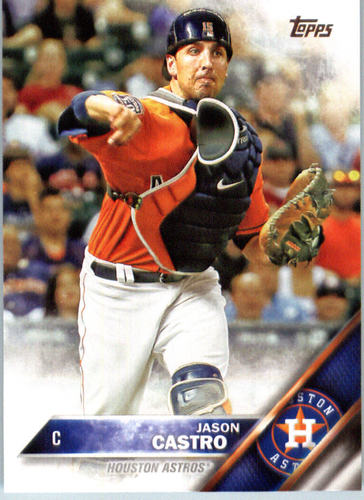 Photo of 2016 Topps #408 Jason Castro