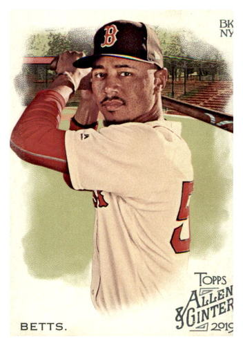 Photo of 2019 Topps Allen and Ginter #1 Mookie Betts