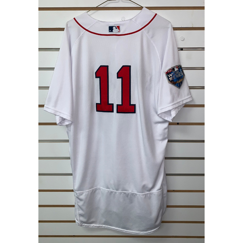 Photo of Rafael Devers Team Issued 2018 World Series Home  Jersey