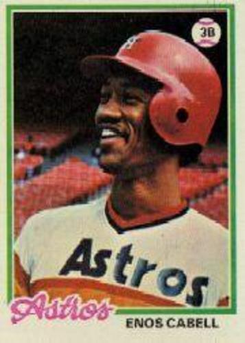 Photo of 1978 Topps #132 Enos Cabell