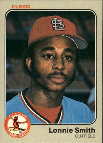 Photo of 1983 Fleer #21 Lonnie Smith