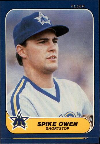 Photo of 1986 Fleer #469 Mike Moore