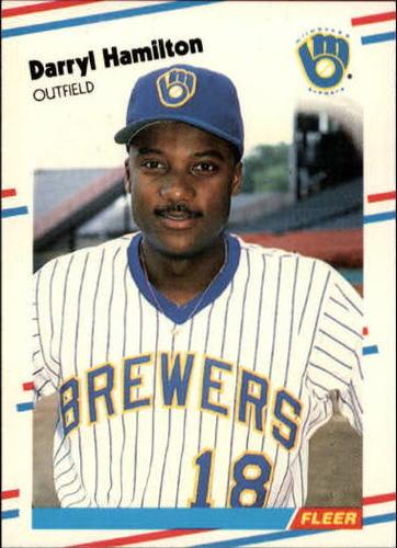 Photo of 1988 Fleer Update #38 Darryl Hamilton XRC