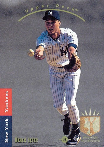 Photo of 1993 SP #279 Derek Jeter FOIL Rookie Card