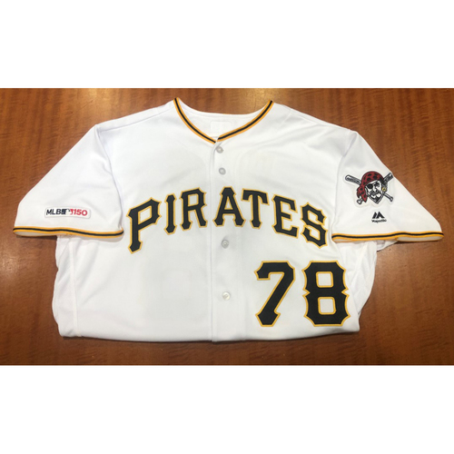 Photo of Wei-Chung Wang - Game Used Jersey