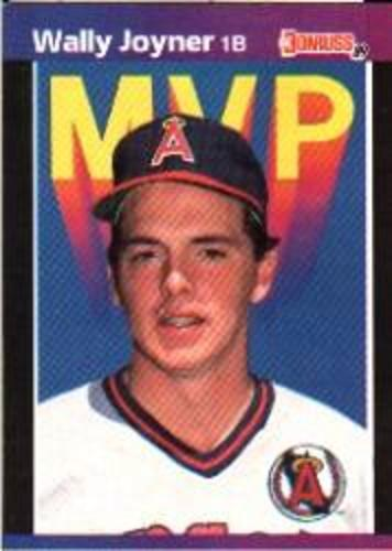 Photo of 1989 Donruss Bonus MVP's #BC21 Wally Joyner DP