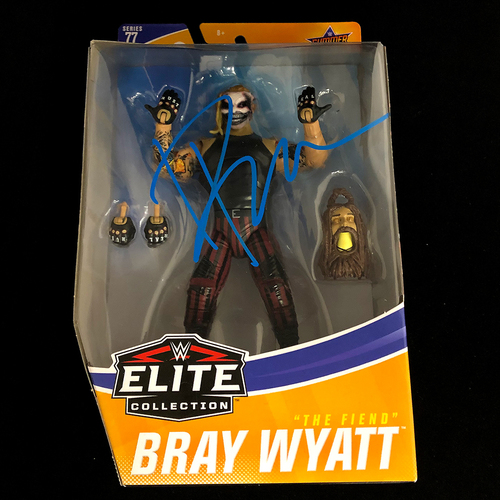 Photo of Bray Wyatt SIGNED WWE Elite 77 Action Figure