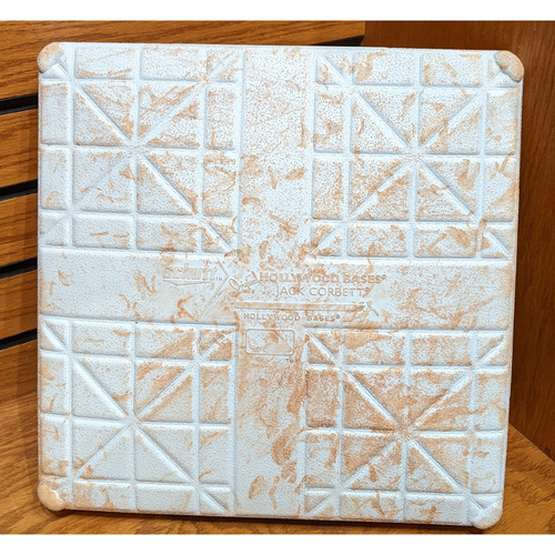 Photo of August 6, 2019 Red Sox vs. Royals Game Used 3rd Base