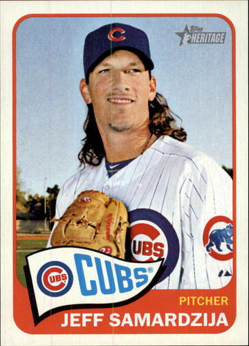 Photo of 2014 Topps Heritage #420 Jeff Samardzija