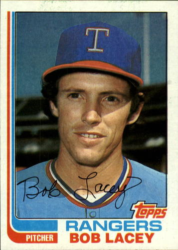 Photo of 1982 Topps #103 Bob Lacey