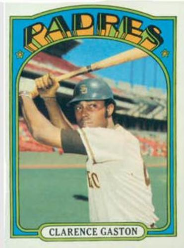 Photo of 1972 Topps #431 Clarence Gaston