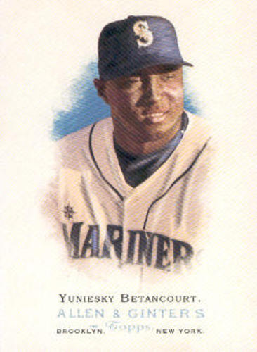 Photo of 2006 Topps Allen and Ginter #134 Yuniesky Betancourt