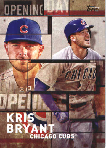 Photo of 2018 Topps Opening Day Insert #OD17 Kris Bryant