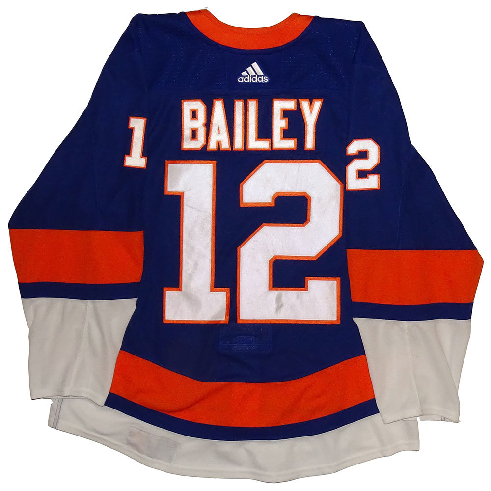 Josh Bailey - Game Worn Home Jersey - 2017-18 Season - New York Islanders
