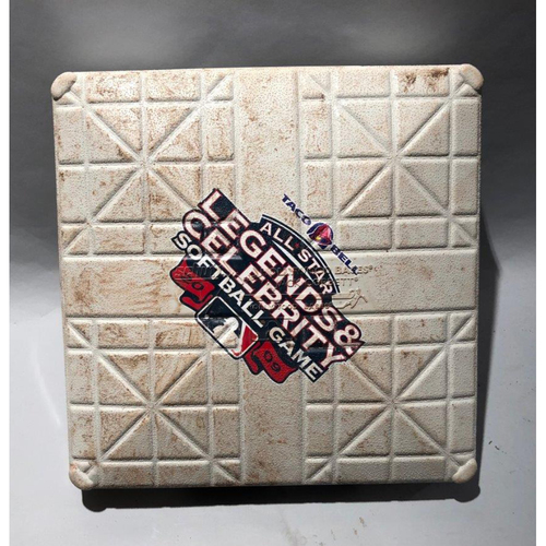 Photo of 2009 Legends & Celebrity Softball Game-Used 2nd Base